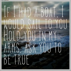 If I had a boat - James Vincent McMorrow